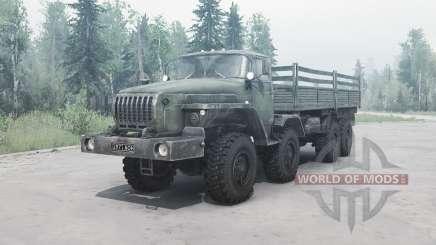 Ural 6614 v2.0 para MudRunner