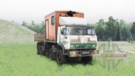 KamAZ 63501 Mustang v1.1 para Spin Tires