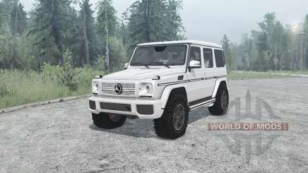 Mercedes-Benz G 65 AMG (W463) para MudRunner