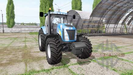 New Holland TG255 v4.0 para Farming Simulator 2017