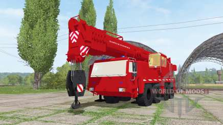 Liebherr LTM 1090-2 sapeur-pompier v2.0 para Farming Simulator 2017