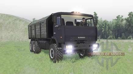 KAMAZ 65111 para Spin Tires