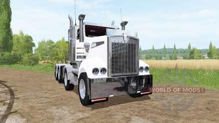 Kenworth T908 8x4 4 para Farming Simulator 2017