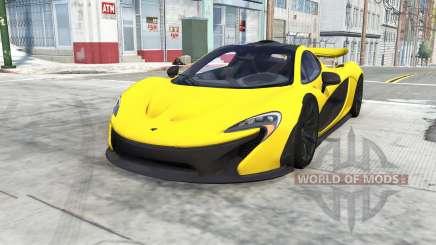 McLaren P1 para BeamNG Drive