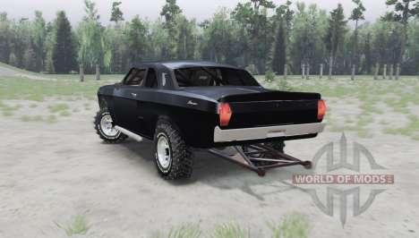GAZ 24 Volga coupé para Spin Tires