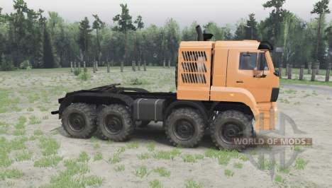 KAMAZ 65228 para Spin Tires