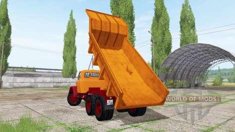 Magirus-Deutz 200 D 26 dump truck para Farming Simulator 2017