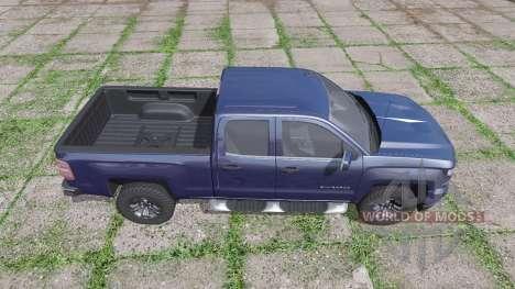 Chevrolet Silverado LTZ Z71 Double Cab (GMTK2) para Farming Simulator 2017