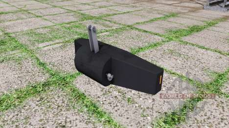 Ballast valve weight v1.2 para Farming Simulator 2017