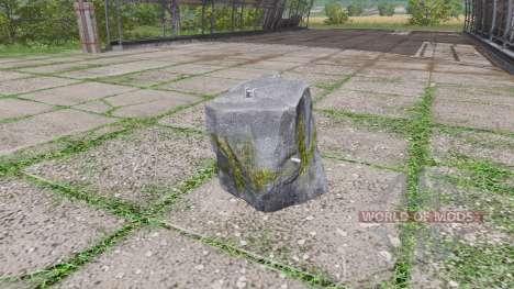 Stone weight para Farming Simulator 2017