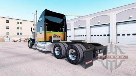 A pele JA.Dia da emancipação no caminhão Kenworth W900 para American Truck Simulator