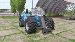 New Holland LM 7.42 bigger wheels
