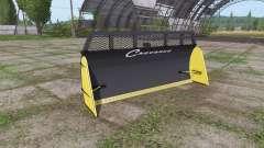 Remorques Chevance silage blade para Farming Simulator 2017