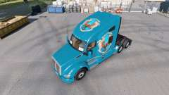 Peles de Hogwarts Casas para o trator Kenworth T680 para American Truck Simulator