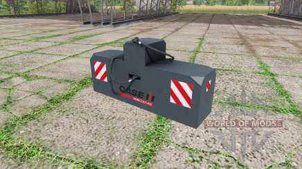 Weight Case IH para Farming Simulator 2017