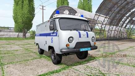 UAZ 3909 Polícia para Farming Simulator 2017