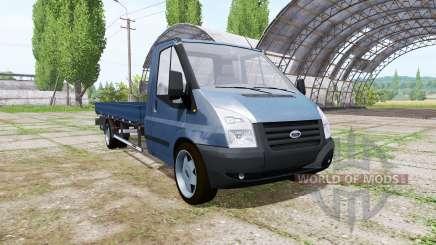 Ford Transit pickup 2006 v2.0 para Farming Simulator 2017