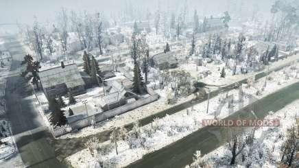 A aldeia de TES v1.02 para MudRunner
