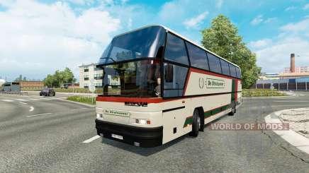 Bus traffic v1.9 para Euro Truck Simulator 2
