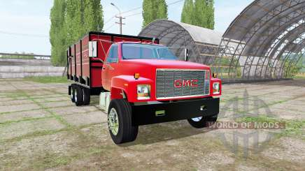GMC C7500 dump truck para Farming Simulator 2017