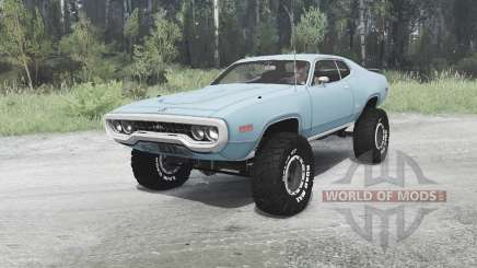 Plymouth GTX 1971 (GR2-RS23) off-road para MudRunner