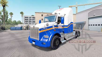 Pele ATM no caminhão Kenworth T800 para American Truck Simulator