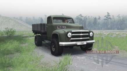 UAZ 300 experientes 1949 para Spin Tires
