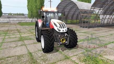 Steyr Terrus 6300 CVT v3.0 para Farming Simulator 2017
