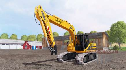 JCB JS200 para Farming Simulator 2015