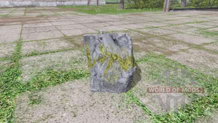 Stone weight para Farming Simulator 2017