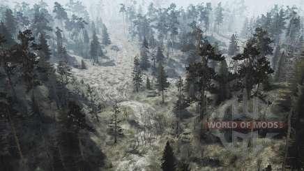 Floresta do jogo 4 para MudRunner