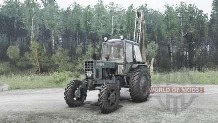 MTZ Bielorrússia 82.1 para MudRunner