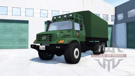 Mercedes-Benz Zetros 2733 A chinese army para BeamNG Drive