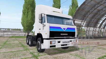 KAMAZ 54115 v4.Cinco para Farming Simulator 2017