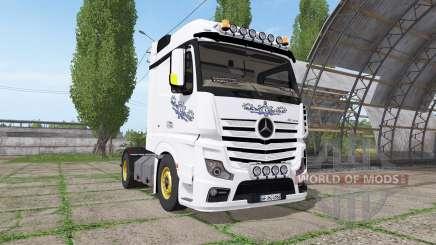 Mercedes-Benz Actros LS (MP4) para Farming Simulator 2017