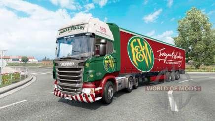 Painted truck traffic pack v3.3 para Euro Truck Simulator 2