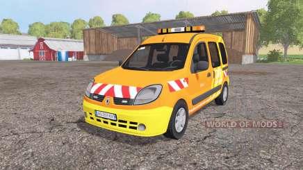 Renault Kangoo DIR v1.1 para Farming Simulator 2015