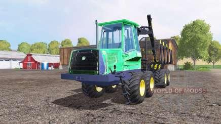 John Deere 1110D para Farming Simulator 2015