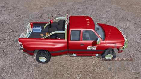 Dodge Ram 3500 Club Cab mobile tank para Farming Simulator 2013