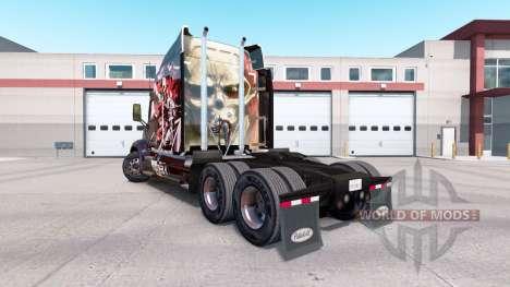 A pele de Ataque no Titan tractor Peterbilt 579 para American Truck Simulator