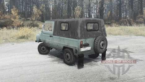 LuAZ 969M para Spintires MudRunner