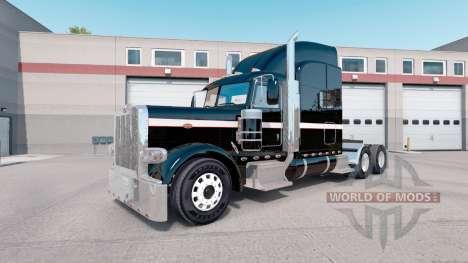 Pele Metalizado Paintable para o caminhão Peterbilt 389 para American Truck Simulator