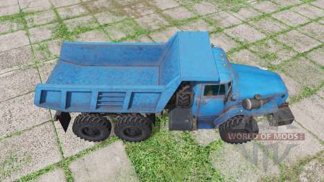 Ural 4320-1151-41 v1.1 para Farming Simulator 2017