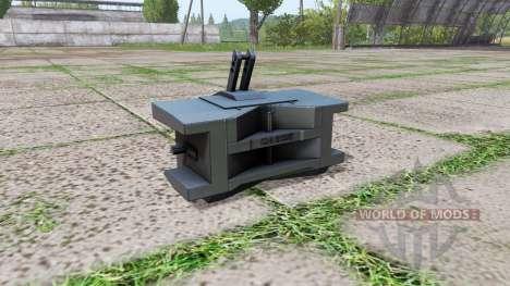 Case IH weight para Farming Simulator 2017