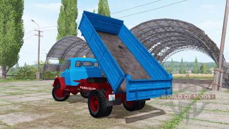 Magirus-Deutz 200 D 26 side tipper para Farming Simulator 2017