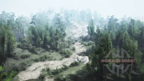 Country trail v1.1 para Spintires MudRunner