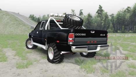 Dodge Ram 3500 Club Cab 1994 para Spin Tires