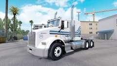 A MTV pele para Kenworth T800 caminhão