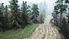 Estradas extremas C. Petrashovka para MudRunner