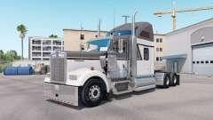 Pele Mestre de Cinza no caminhão Kenworth W900